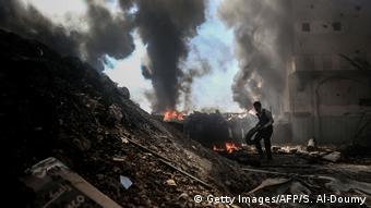 La guerra en Siria estuvo entre los temas abordados en la cumbre de Bonn.