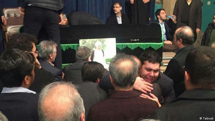 Iran Tod von Akbar Hashemi Rafsanjani (Tabnak)