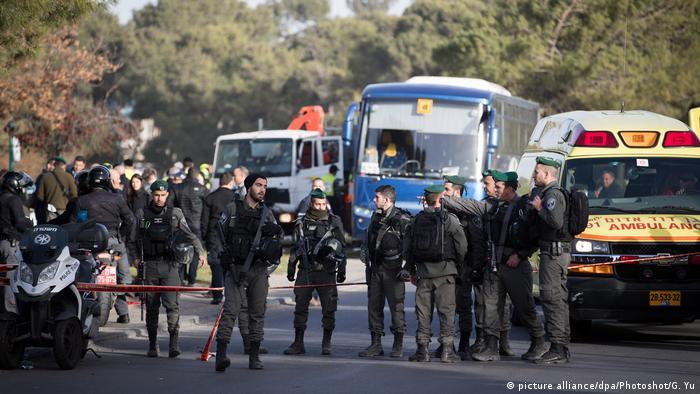 Schwerer LKW-Anschlag in Ost-Jerusalem