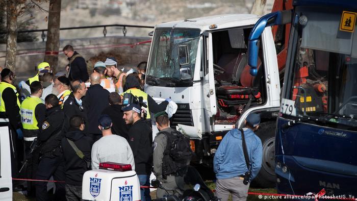 Israel Vier israelische Soldaten bei Lkw-Anschlag in Jerusalem getötet
