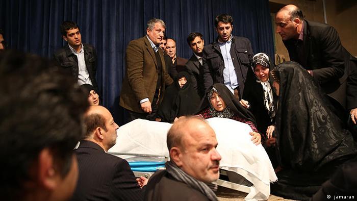 Iran Tod von Akbar Hashemi Rafsanjani ( jamaran)