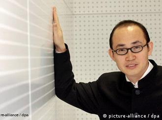 Der chinesische Bauunternehmer Pan Shiyi Freies Bildformat