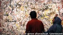 Iran Tehran Museum of Contemporary Art Jackson Pollock