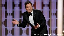 USA Golden Globes 2017 Jimmy Fallon