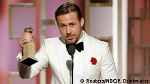 USA Golden Globes 2017 Ryan Gosling La La Land