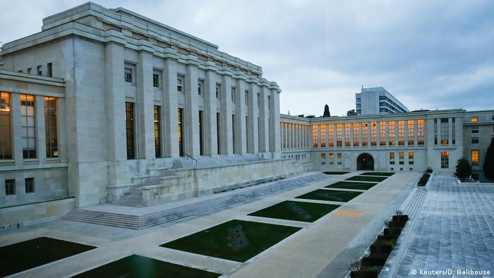 Schweiz Zyperngespräche in Genf (Reuters/D. Balibouse)
