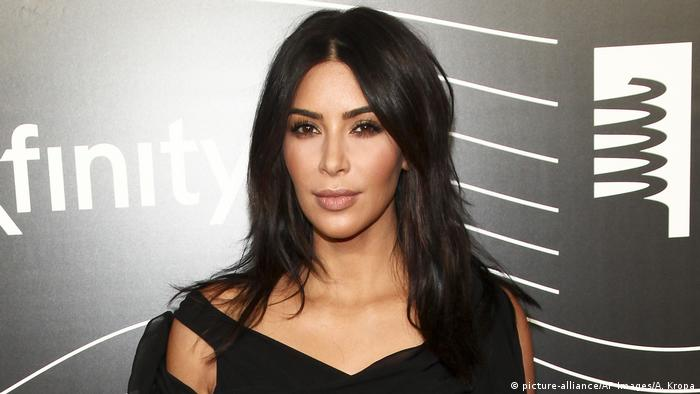 USA Kim Kardashian in New York (picture-alliance/AP Images/A. Kropa)