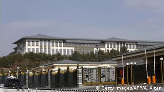 Türkei Präsidentenpalast Ak Saray bei Ankara