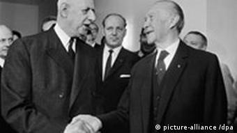 De Gaulle and Adenauer