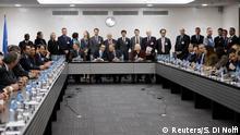 Schweiz Zyperngespräche in Genf