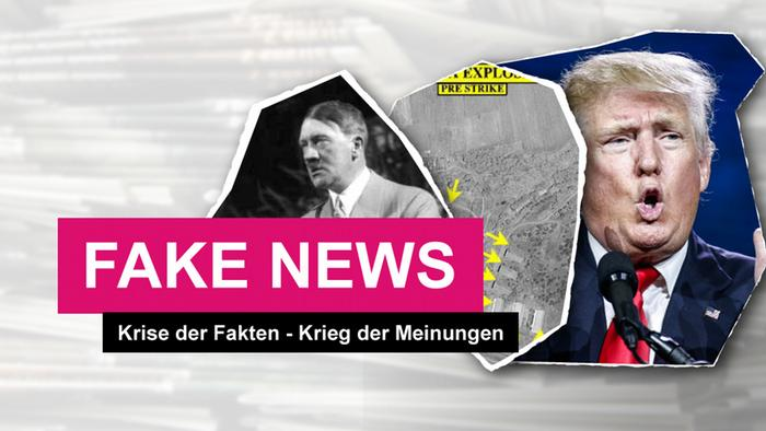 Picture Teaser Fake News DEU