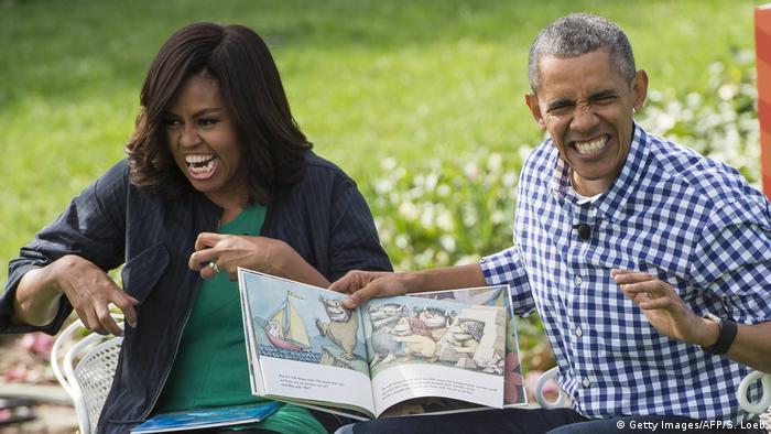 USA Familie Obama im Weißen Haus