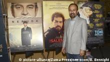 USA Golden Globes - Regisseur Asghar Farhadi (picture-alliance/Zuma Press/newscom/B. Bennight)