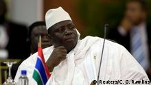 ARCHIV 2009 **** FILE PHOTO Gambia's President Yahya Jammeh attends the plenary session of the Africa-South America Summit on Margarita Island September 27, 2009. REUTERS/Carlos Garcia Rawlins/File Photo