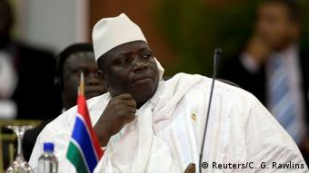 Gambia Yahya Jammeh Präsident (Reuters/C. G. Rawlins)