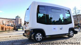 Λεωφορείο χωρίς οδηγό στο Μάνχαιμ της Γερμανίας
