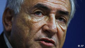 Direktor MMF-a, Dominique Strauss-Kahn