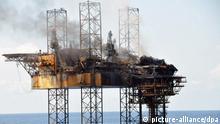 Australien | Archivbild gelöschtes Feuer auf Ölplattform Timor Sea