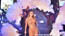 Mariah Carey Silvester 2016/ 2017 New York Times Square
