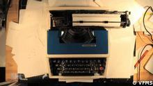 DW Sendung Shift Schreibmaschinen-Welt