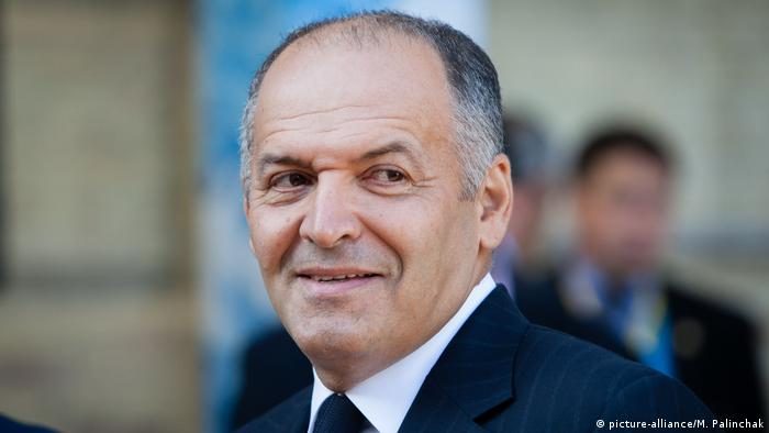 Viktor Pinchuk during the YES Forum in Ukraine (picture-alliance/M. Palinchak)