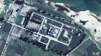 aerial view of the Yongbyon nuclear center
