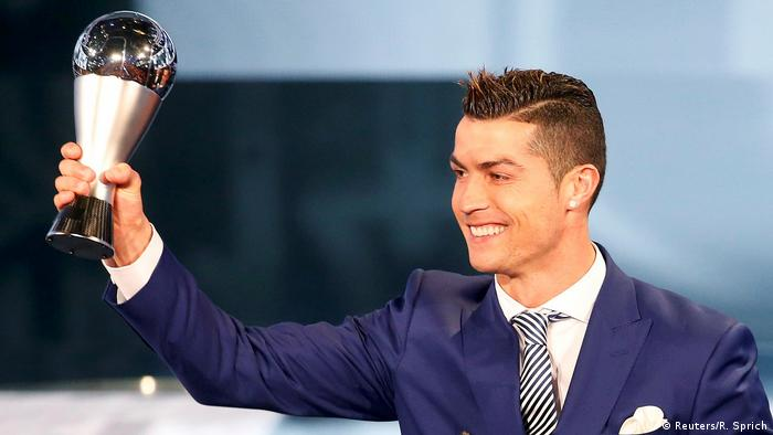 FIFA Gala zur Wahl des Weltfußballers Cristiano Ronaldo (Reuters/R. Sprich)