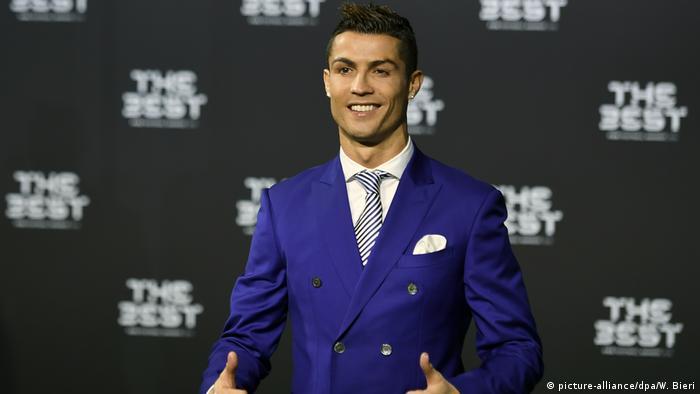 FIFA Gala zur Wahl des Weltfußballers Cristiano Ronaldo
