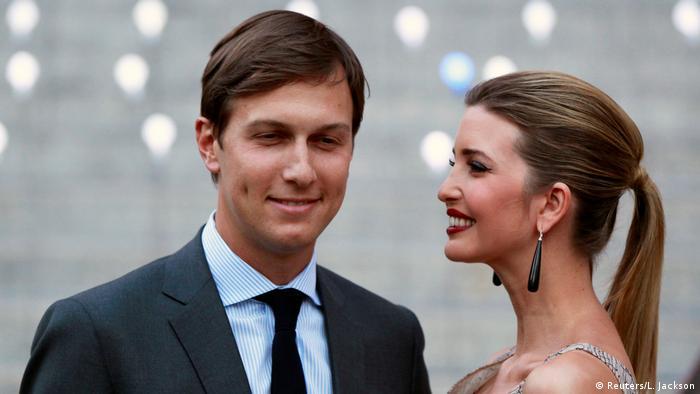 Jared Kushner und Ivanka Trump (Reuters/L. Jackson)