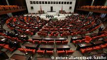 Türkei Parlament berät über Verfassungsreform in Ankara
