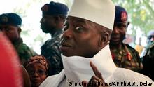 Gambia Yahya Jammeh in Banjul (picture-alliance/AP Photo/J. Delay)