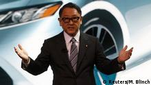 USA Akio Toyoda in Detroit