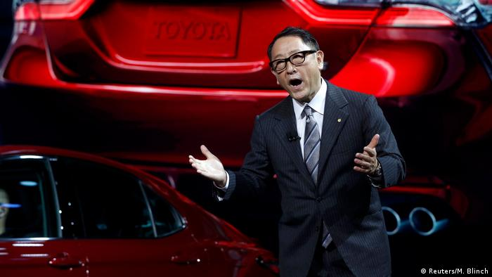 USA Akio Toyoda in Detroit (Reuters/M. Blinch)
