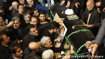 مراسم تشییع جنازه اکبر هاشمی رفسنجانی
