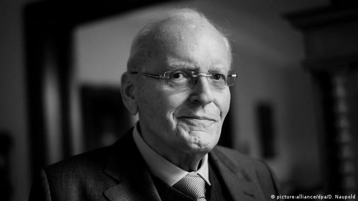 Deutschland Altbundespräsident Roman Herzog ist tot
