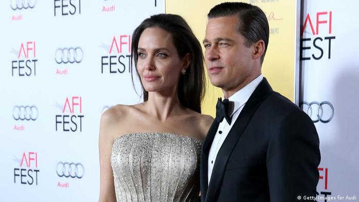 Angelina Jolie und Brad Pitt (Getty Images for Audi)