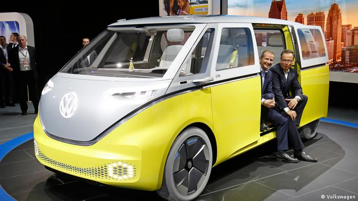 VW's Buzz concept car