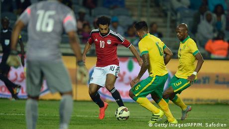 Fussball Freundschaftsspiel Ägypten vs Südafrika (Getty Images/AFP/M. Safodien)