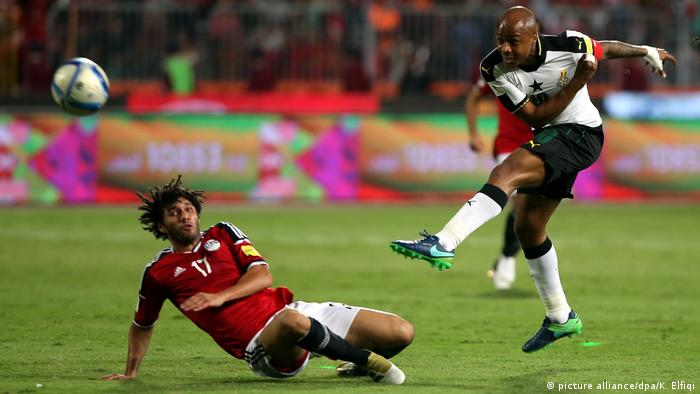 Fussball Freundschaftsspiel Ägypten vs Ghana (picture alliance/dpa/K. Elfiqi)