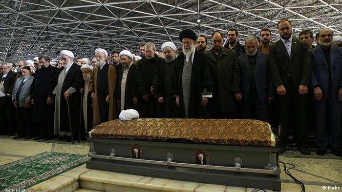 Beerdigung - Akbar Haschemi Rafsandschani (Mehr)