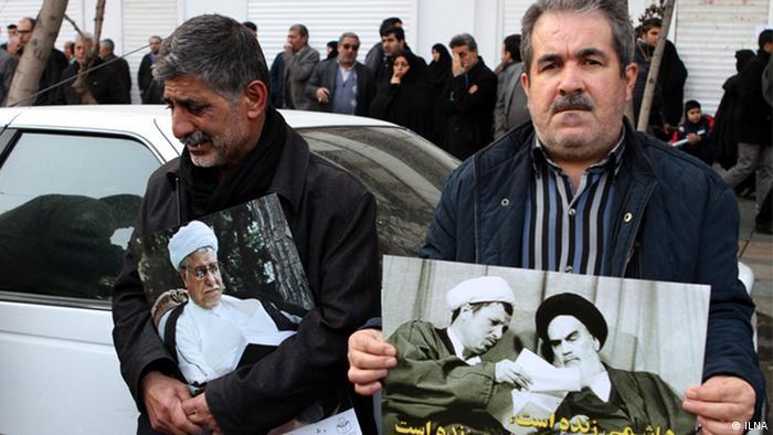 Beerdigung - Akbar Haschemi Rafsandschani (ILNA)