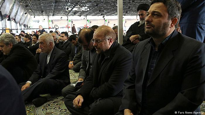 Beerdigung - Akbar Haschemi Rafsandschani (Fars News Agency)