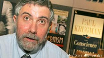 US economist Paul Krugman argues a change in China's currency policy would help the world