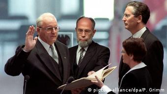 Altbundespräsident Roman Herzog - Amtseid