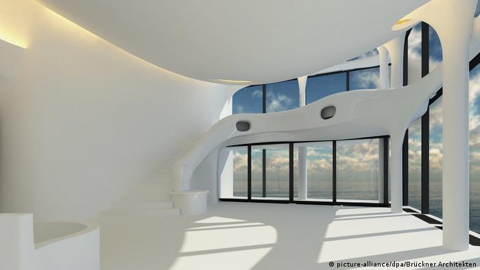 Deutschland Architekten bauen Penthouse für Elbphilharmonie - in Bayern (picture-alliance/dpa/Brückner Architekten)