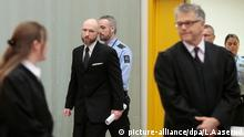 Berufungsprozess Breivik Norwegen