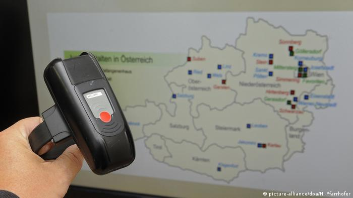 Österreich Überwachunszentrale für elektronische Überwachte Hausarrest