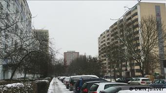 Берлинский район Марцан в январе 2017 года