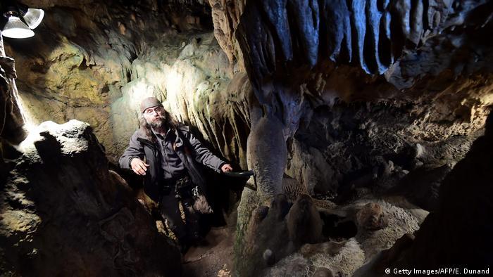 Belgien Neanderthaler Höhle (Getty Images/AFP/E. Dunand)