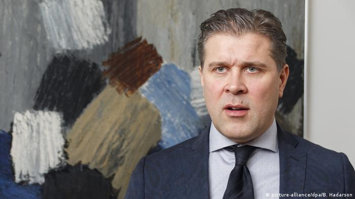 Bjarni Benediktsson, Iceland's new PM (picture-alliance/dpa/B. Hadarson)